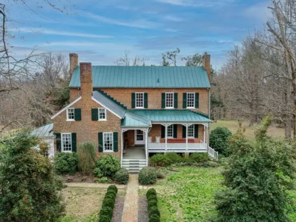southern virginia historic homes for sale