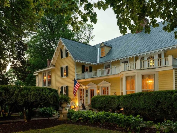 Louisa Virginia historic homes for sale