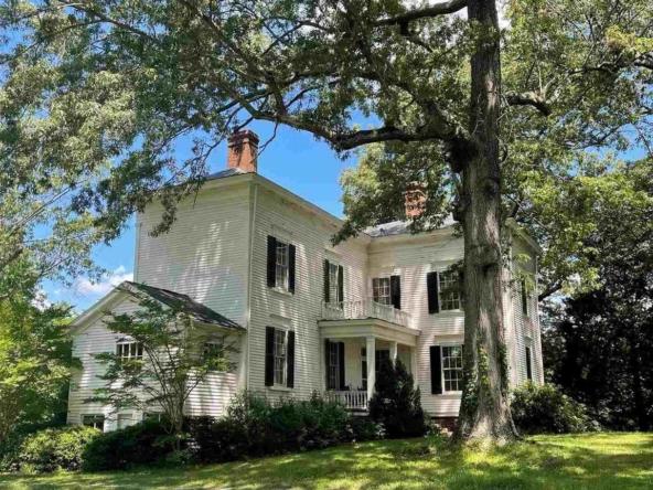 Buckingham County Virginia Historic Homes For Sale